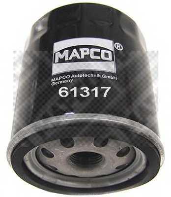 Фильтр масляный MAPCO 61317 - изображение