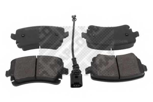 Колодки тормозные дисковые задний для VW MULTIVAN, TRANSPORTER <b>MAPCO 6793</b> - изображение