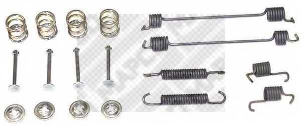 Комплектующие тормозной колодки MAPCO 9111 - изображение