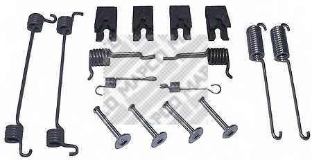 Комплектующие тормозной колодки MAPCO 9159 - изображение