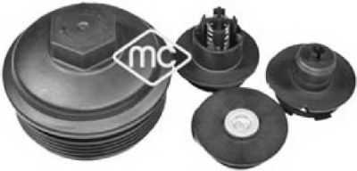 Крышка, корпус маслянного фильтра Metalcaucho 03841 - изображение