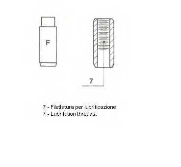 Направляющая втулка клапана METELLI 01-2326 - изображение 1