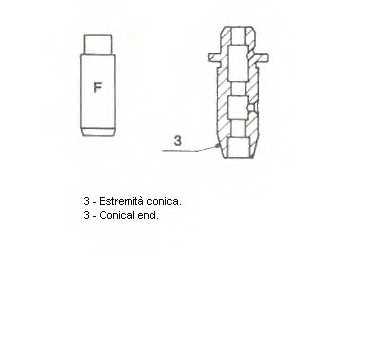 Направляющая втулка клапана METELLI 01-2332 - изображение