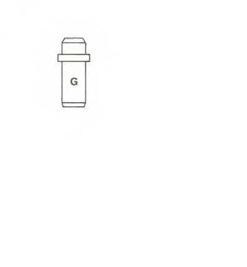 Направляющая втулка клапана METELLI 01-2473 - изображение