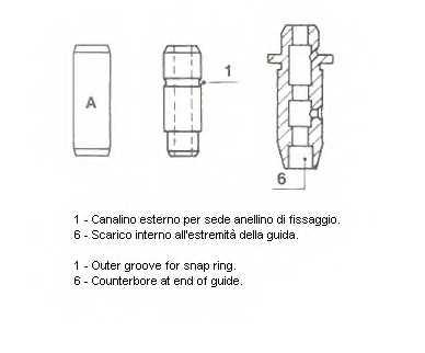 Направляющая втулка клапана METELLI 01-2707 - изображение