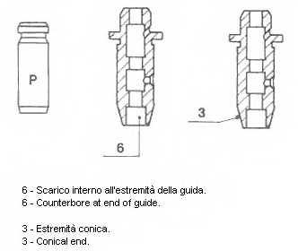 Направляющая втулка клапана METELLI 01-2935 - изображение