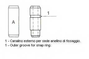 Направляющая втулка клапана METELLI 01-S1951 - изображение