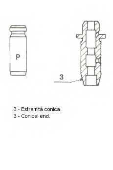 Направляющая втулка клапана METELLI 01-S2921 - изображение