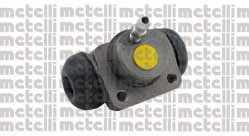 Колесный тормозной цилиндр METELLI 04-0581 - изображение