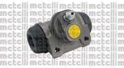 Колесный тормозной цилиндр METELLI 04-0602 - изображение