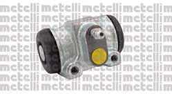 Колесный тормозной цилиндр METELLI 04-0636 - изображение