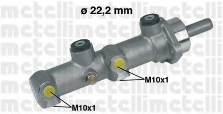 Главный тормозной цилиндр METELLI 05-0091 - изображение