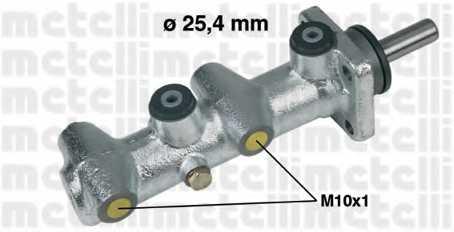 Главный тормозной цилиндр METELLI 05-0110 - изображение