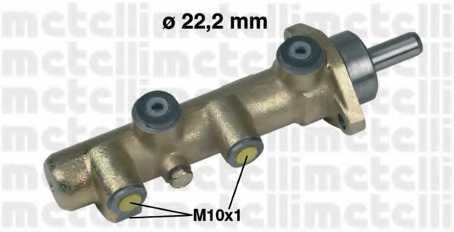 Главный тормозной цилиндр METELLI 05-0130 - изображение