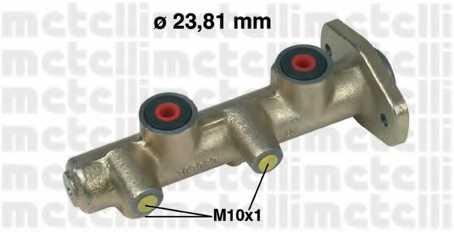 Главный тормозной цилиндр METELLI 05-0171 - изображение
