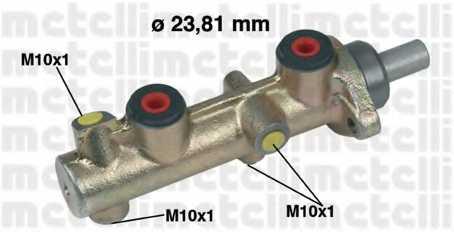 Главный тормозной цилиндр METELLI 05-0203 - изображение