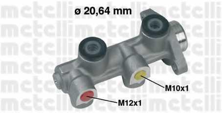 Главный тормозной цилиндр METELLI 05-0224 - изображение