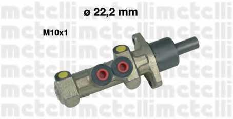 Главный тормозной цилиндр METELLI 05-0227 - изображение