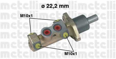 Главный тормозной цилиндр METELLI 05-0326 - изображение