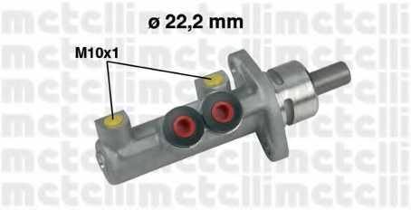 Главный тормозной цилиндр METELLI 05-0327 - изображение