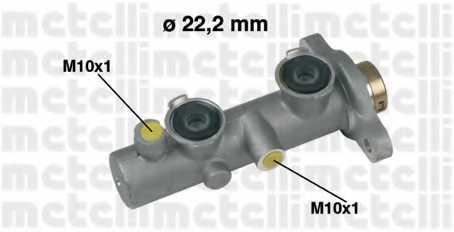 Главный тормозной цилиндр METELLI 05-0342 - изображение