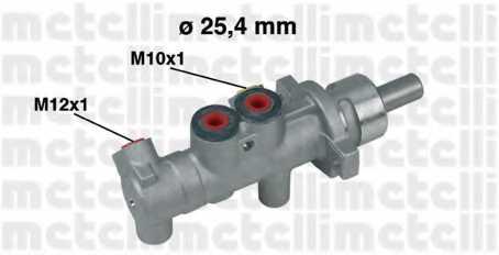Главный тормозной цилиндр METELLI 05-0414 - изображение