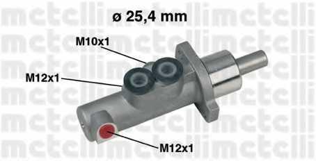 Главный тормозной цилиндр METELLI 05-0440 - изображение
