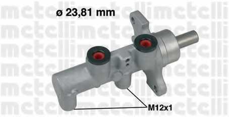 Главный тормозной цилиндр METELLI 05-0568 - изображение