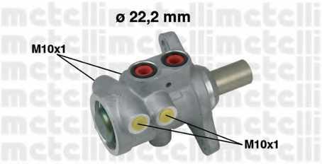 Главный тормозной цилиндр METELLI 05-0594 - изображение