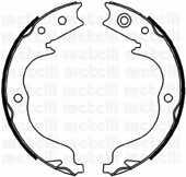 Комплект колодок стояночной тормозной системы METELLI 53-0268 - изображение