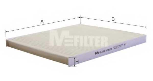 Фильтр салонный MFILTER K 9023 - изображение