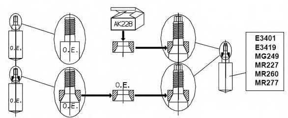 Амортизатор для CITROEN SAXO(S0,S1) / PEUGEOT 106(1,1#,1A,1C) <b>MONROE MR260</b> - изображение