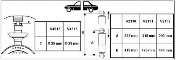 Амортизатор для CITROEN JUMPER / FIAT DUCATO(244,250,290) / PEUGEOT BOXER <b>MONROE V4513</b> - изображение