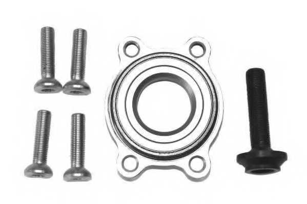 Комплект подшипника ступицы колеса MOOG AU-WB-11008 - изображение