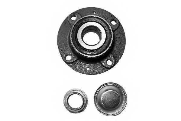 Комплект подшипника ступицы колеса MOOG CI-WB-11374 - изображение
