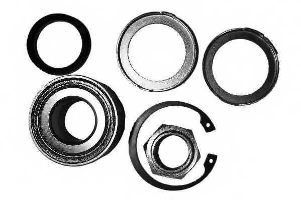 Комплект подшипника ступицы колеса MOOG CI-WB-12232B - изображение