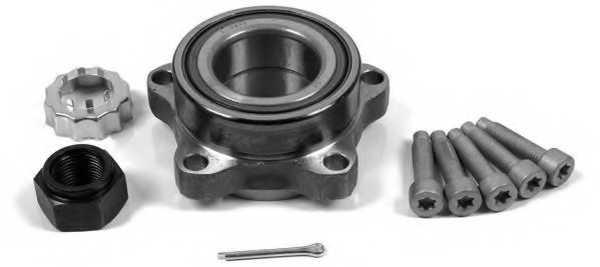 Комплект подшипника ступицы колеса MOOG FD-WB-11207 - изображение
