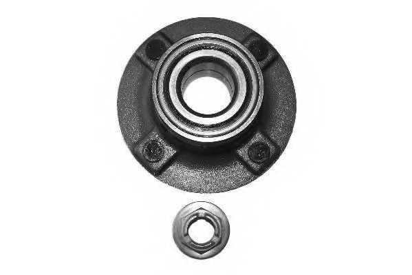 Комплект подшипника ступицы колеса MOOG FD-WB-11232 - изображение
