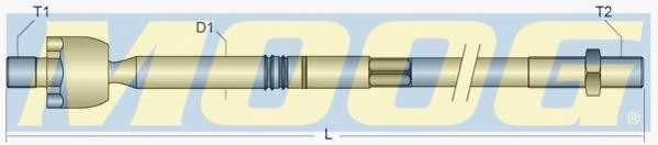 Осевой шарнир рулевой тяги MOOG HO-AX-7910 - изображение