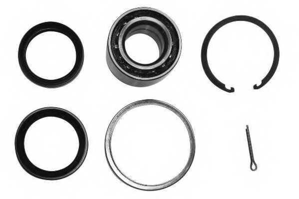 Комплект подшипника ступицы колеса MOOG TO-WB-12121 - изображение