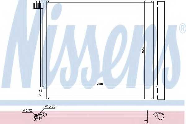 Конденсатор кондиционера NISSENS 940339 - изображение