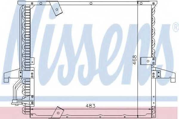 Конденсатор кондиционера NISSENS 94166 - изображение