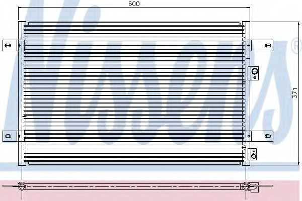 Конденсатор кондиционера NISSENS 94251 - изображение
