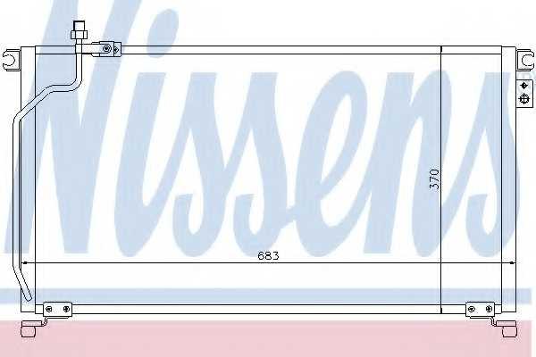 Конденсатор кондиционера NISSENS 94501 - изображение