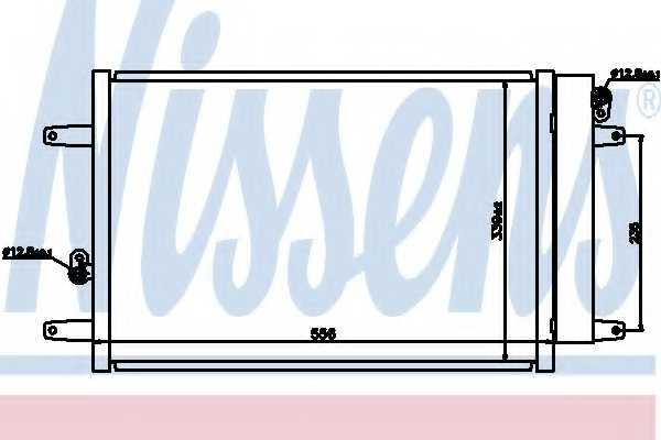 Конденсатор кондиционера NISSENS 94575 - изображение