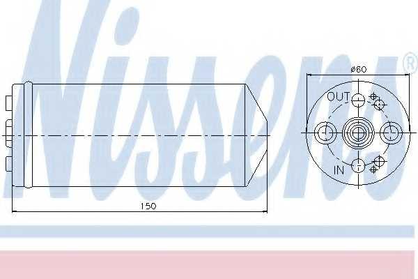 Осушитель кондиционера NISSENS 95056 - изображение