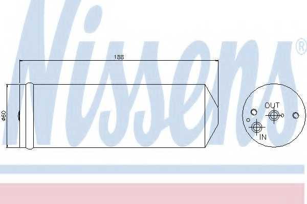 Осушитель кондиционера NISSENS 95065 - изображение