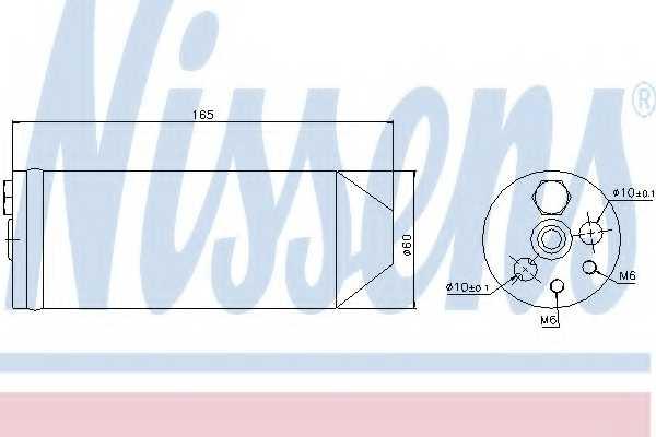 Осушитель кондиционера NISSENS 95070 - изображение