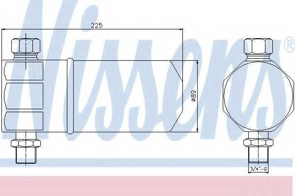 Осушитель кондиционера NISSENS 95115 - изображение
