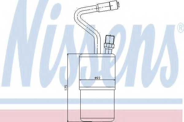 Осушитель кондиционера NISSENS 95135 - изображение